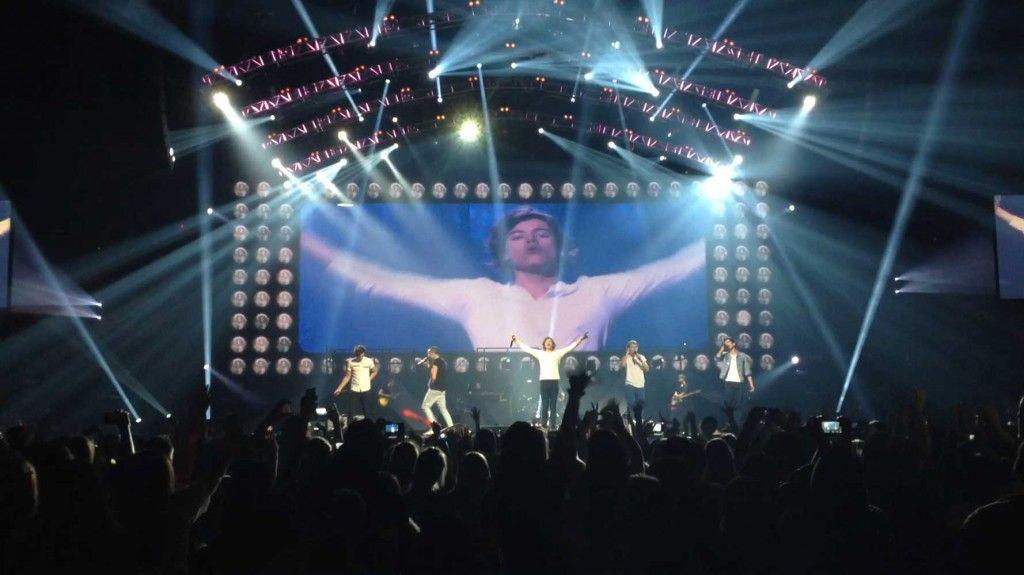 David Lee S Lighting Design For One Direction At Madison