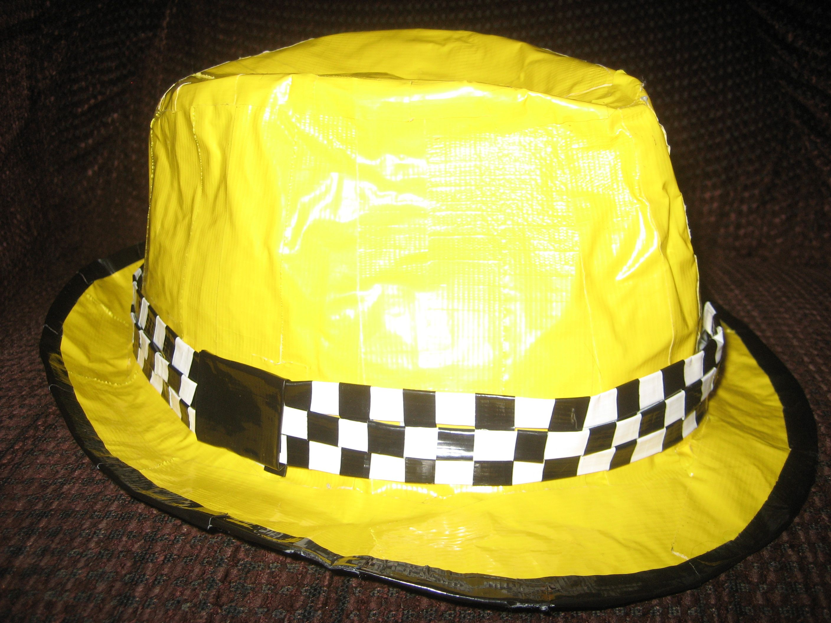 Duct Tape hat | Duct tape crafts, Duct tape, Duck tape crafts