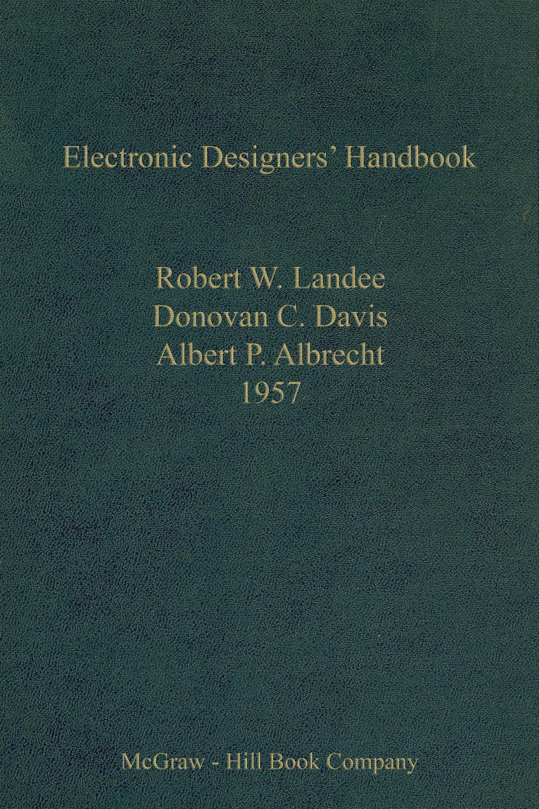 Electronic Designers Handbook 1957 Tube Compressors Filter Circuits 295 Gbp Etc