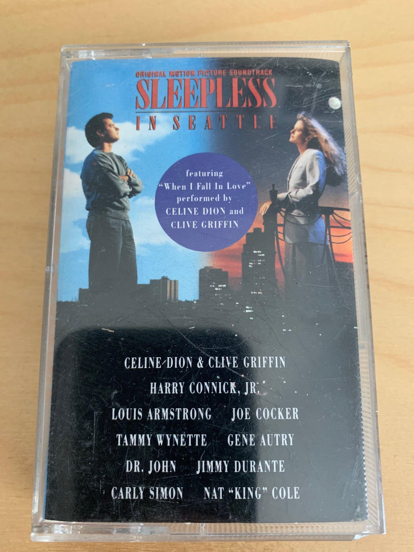 Sleepless In Seattle Movie Soundtrack Cassette Etsy in