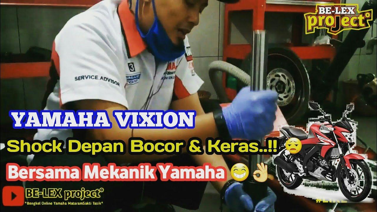 Memperbaiki Seal Shok Depan Yang Bocor Dan Keras Di Yamaha Vixion Bersama Mekanik Yamaha Persamaan Youtube Pengukur