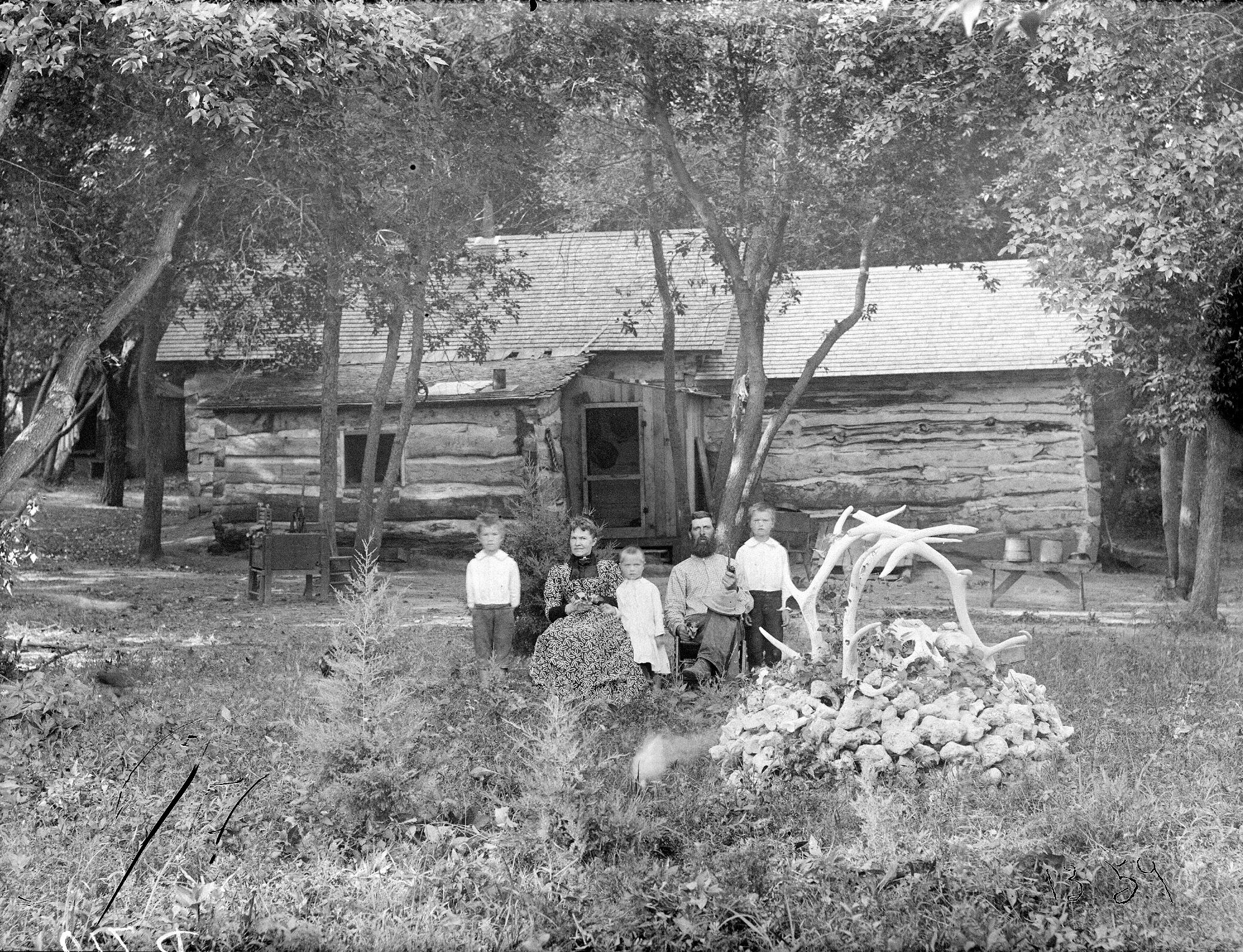 Circa 1892 al wise ranch near callaway one of the oldest