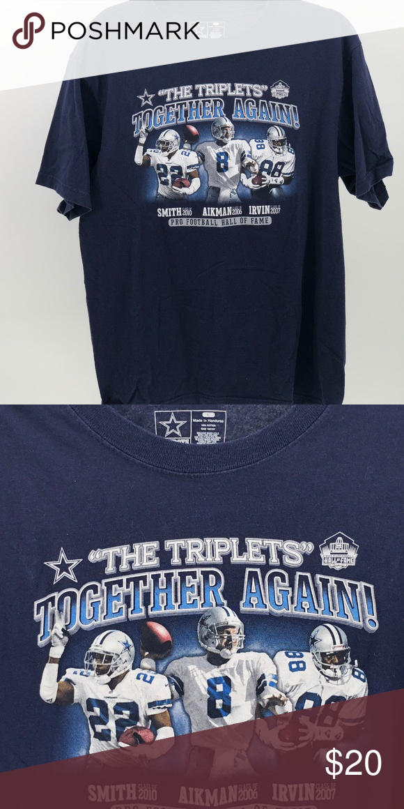 c03b34241 Dallas Cowboys team apparel T-Shirt sz Large DO3 Dallas Cowboys team  apparel T-