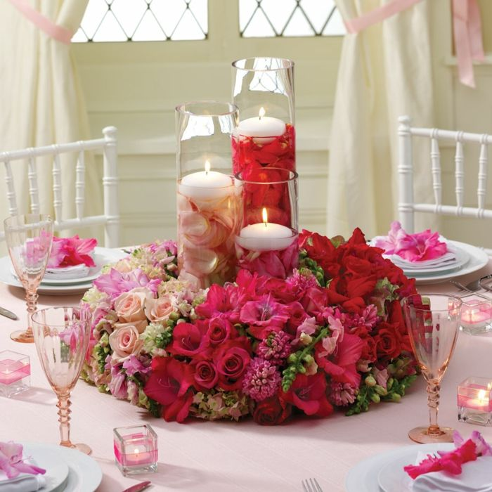 Schicke Und Gunstige Blumen Tischdeko Zu Ihrer Hochzeit Flowers