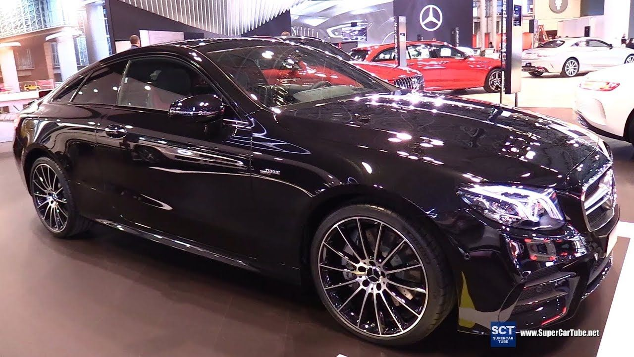 2019 Mercedes Amg E Class E53 Coupe Exterior And Interior Walkaround Mercedes Amg Mercedes Best New Cars