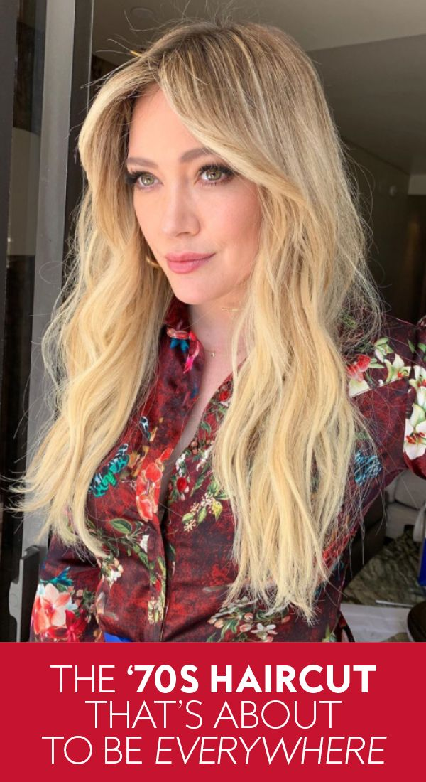 Hilary Duff Just Got Feathered Bangs