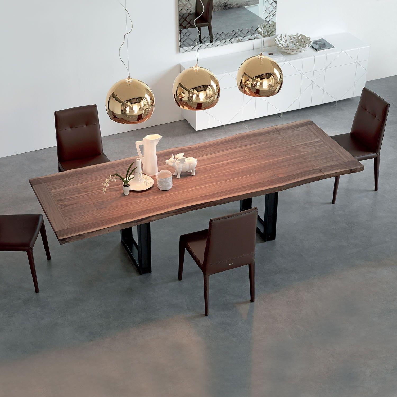Tavolo da pranzo di design in legno Sigma di Cattelan ...