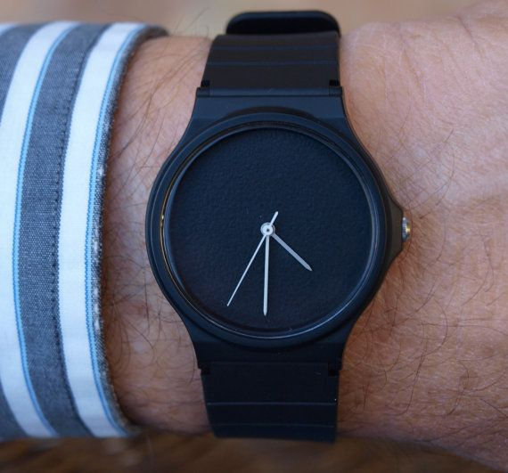 c6d6a134d0fa Custom Casio Black Matte - unisex watch - men s watch - women ...