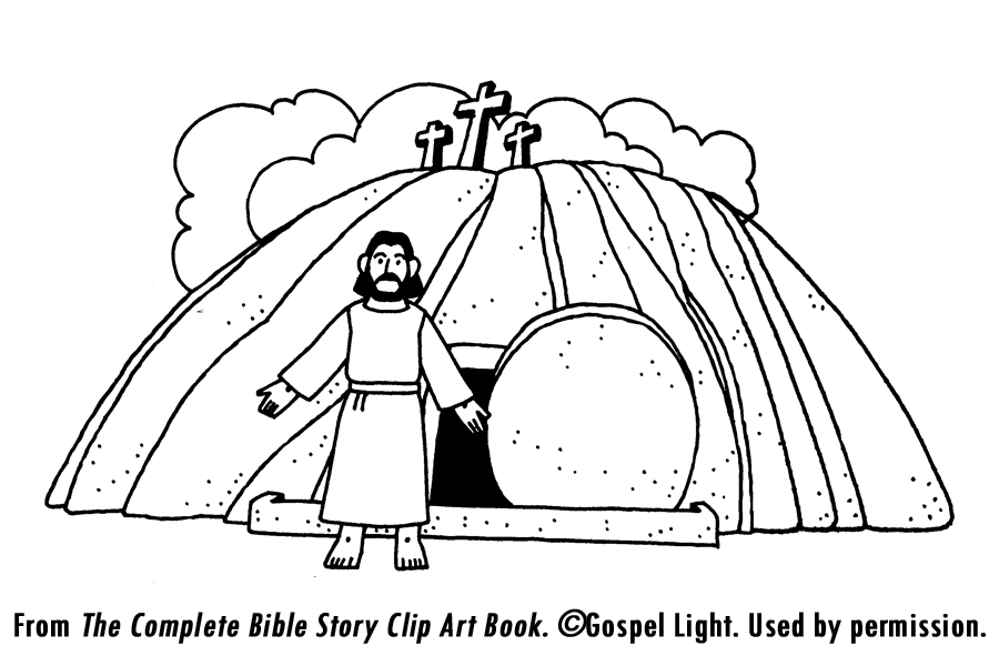 jesus burial and resurrection teaching resources jesus drawingscolouring pageseaster - Jesus Resurrection Coloring Pages