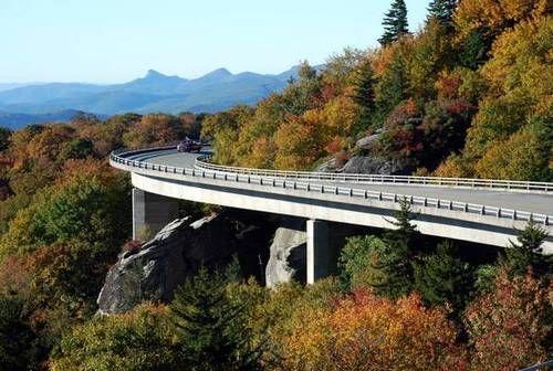 Linn Cove Viaduct near Banner Elk Blueridge Parkway #blueridgeparkway Linn Cove Viaduct near Banner Elk Blueridge Parkway #blueridgeparkway