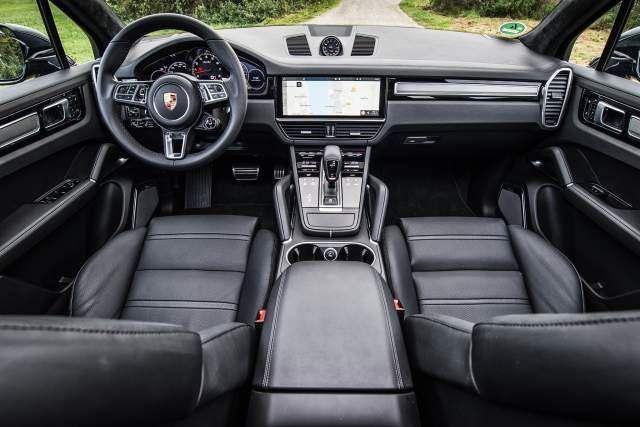 2019 Porsche Cayenne Turbo interior | Cayenne turbo ...