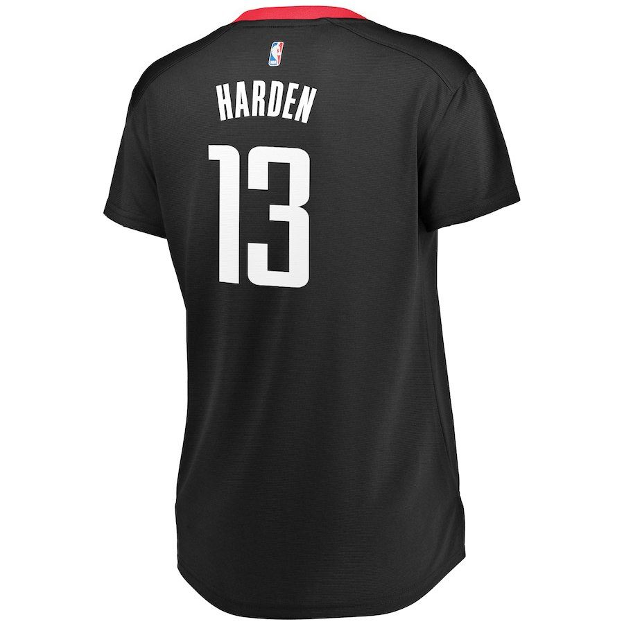 Women s Houston Rockets James Harden Fanatics Branded Black Fast Break  Replica Statement Edition Jersey c58dc8ca6