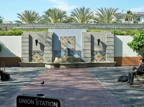 Gardens At Union Station Los Angeles California Union Station Gardens Picture Of Union Station Los Angeles Union Station Los Angeles Garden Pictures