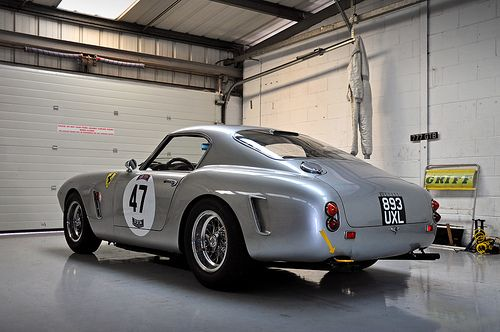 Peter Neumark's 1960 Ferrari 250 GT SWB No.47 pt.1 - 2010 Silverstone Classic