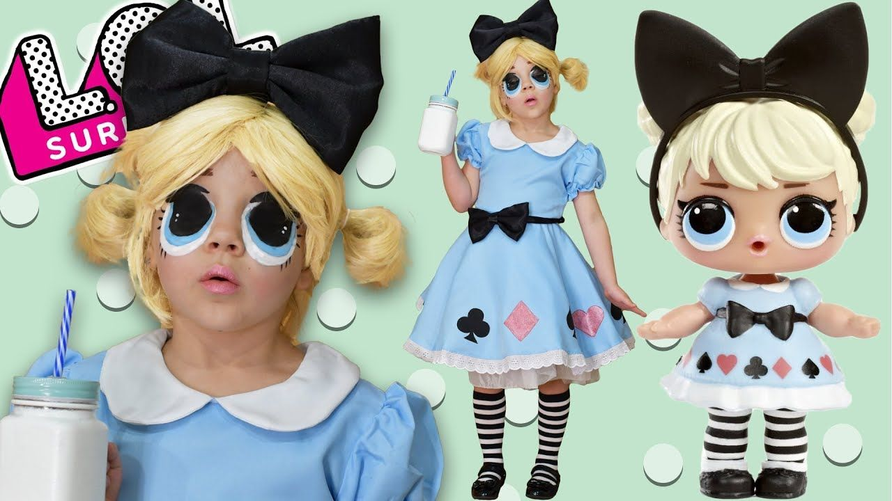 Cosplay doll lol CURIOUS Q.T. Dolls lol surprise in real