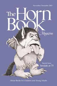 November/December 2003 Horn Book Magazine cover by Maurice Sendak