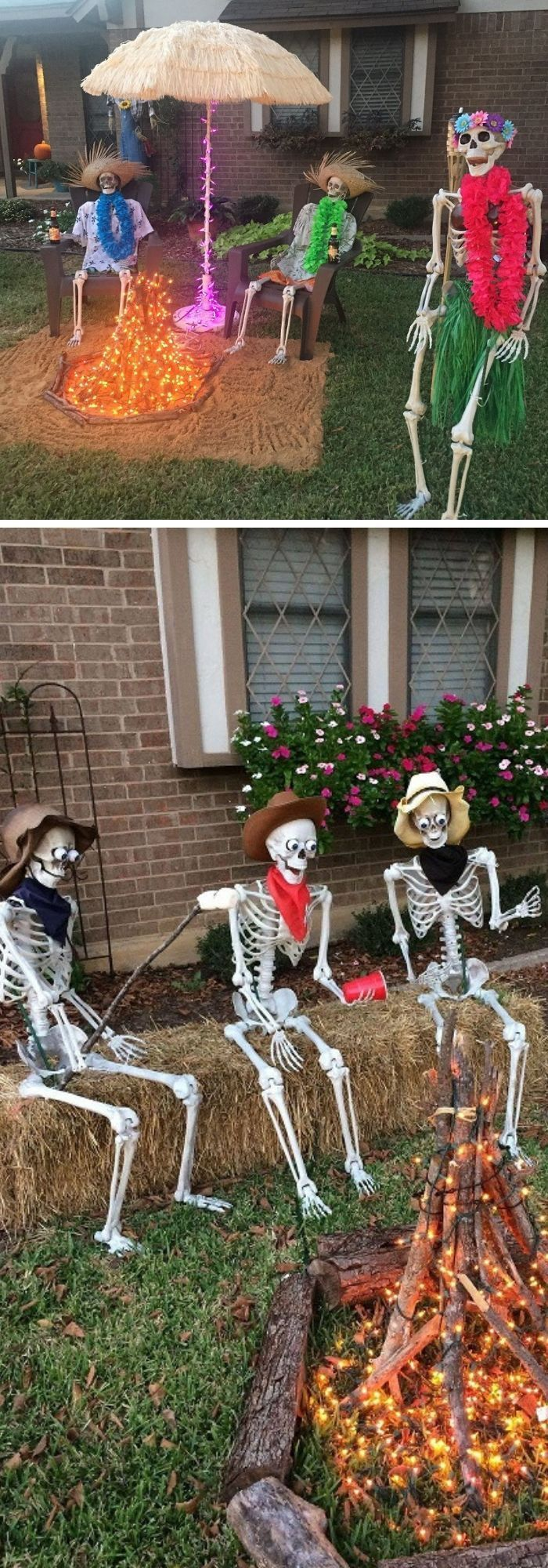 31+ Scary Halloween Outdoor Decoration Ideas to Try For