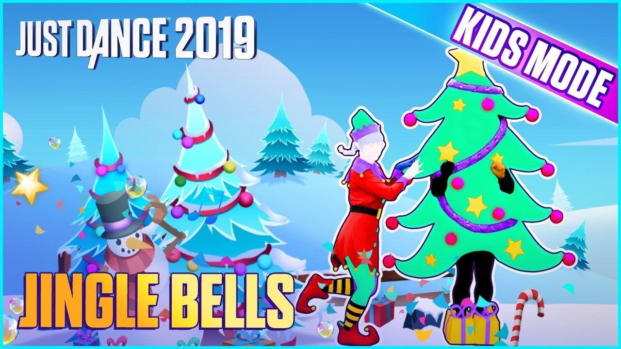 Just Dance 2019 Jingle Bells Kids Mode Official Track Gameplay Us Just Dance Kids Jingle Bells