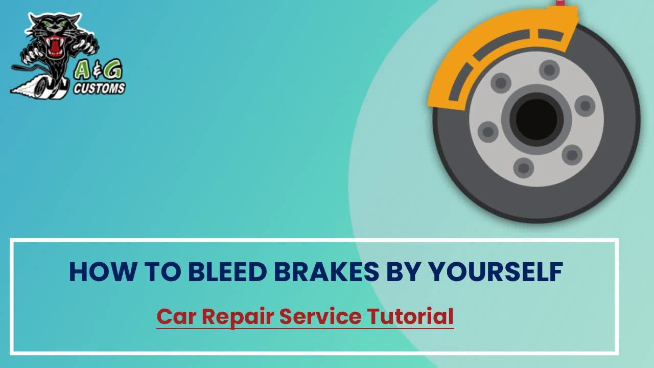 How To Bleed Brakes By Yourself Bleeding Brakes Prevention