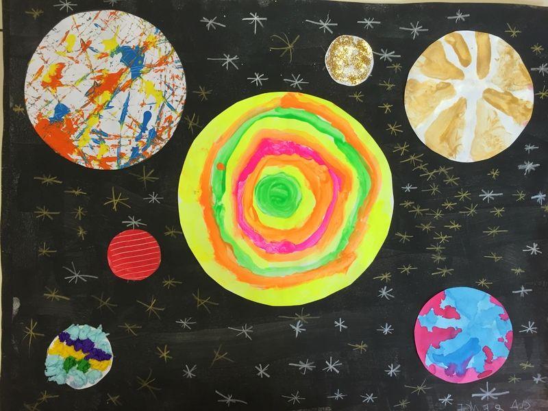 Gut gemocht Les 25 meilleures idées de la catégorie Planètes maternelle sur  AH19