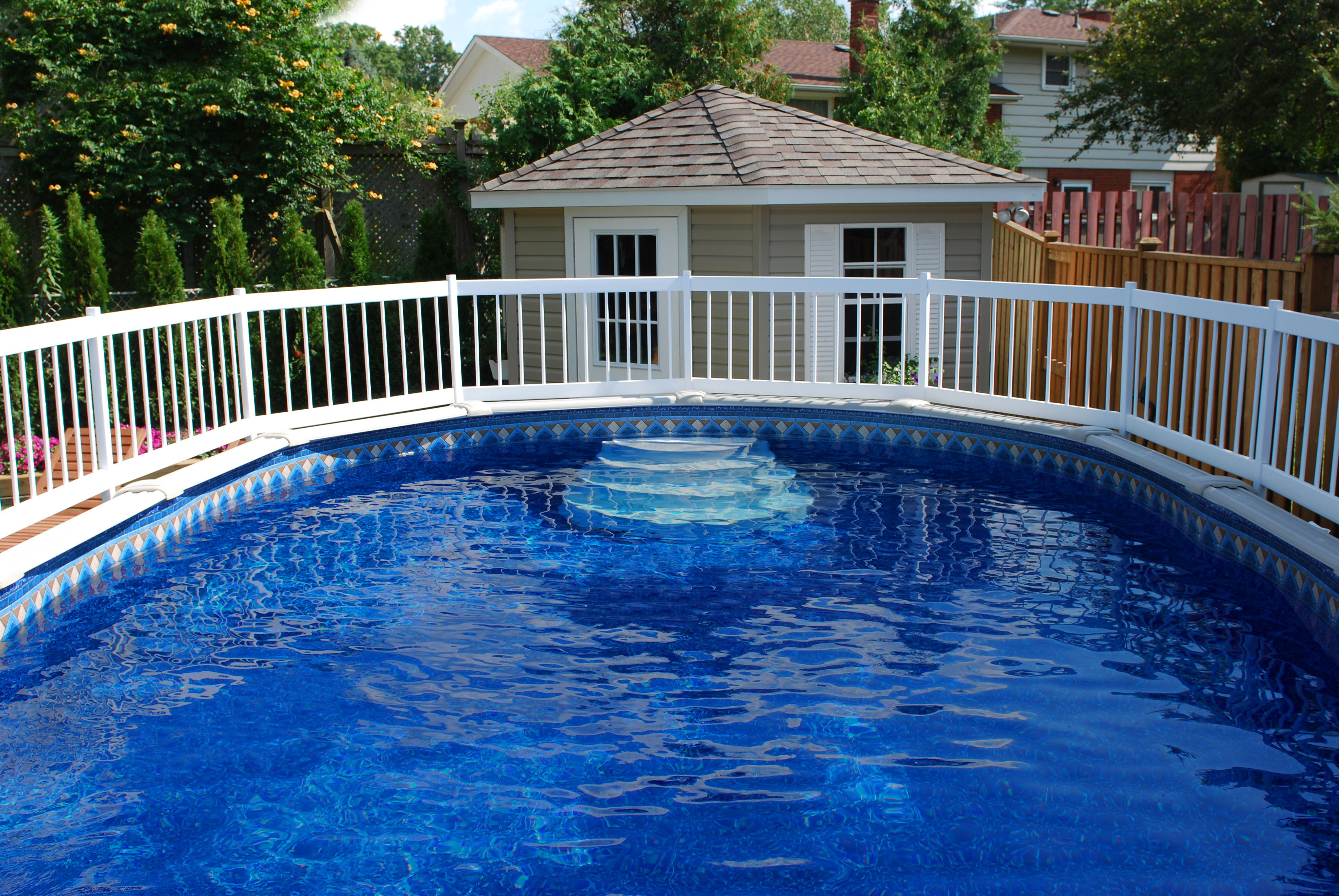 New Aboveground Pool Models And Accessories Pools Aboveground