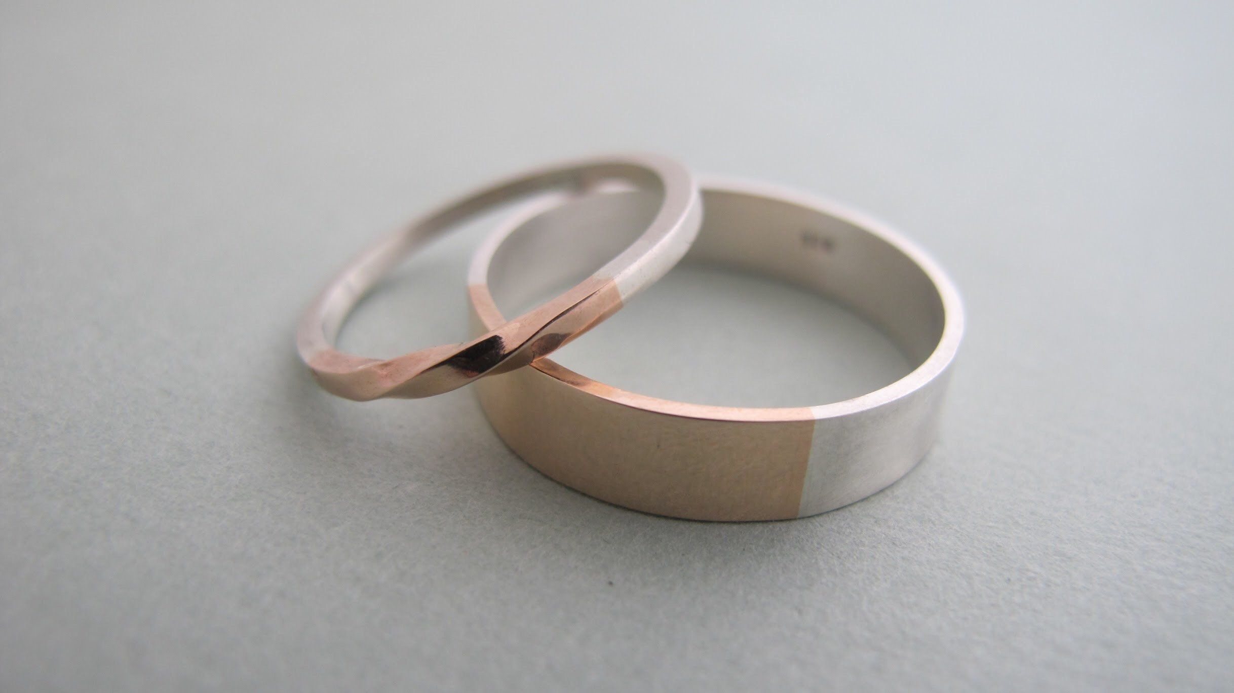 Matching Delicate Wedding Couples Jewelry Dainty Bands Rings Band Ring Set For Andweddin Couples Ring Set Matching Wedding Bands Wedding Band Sets