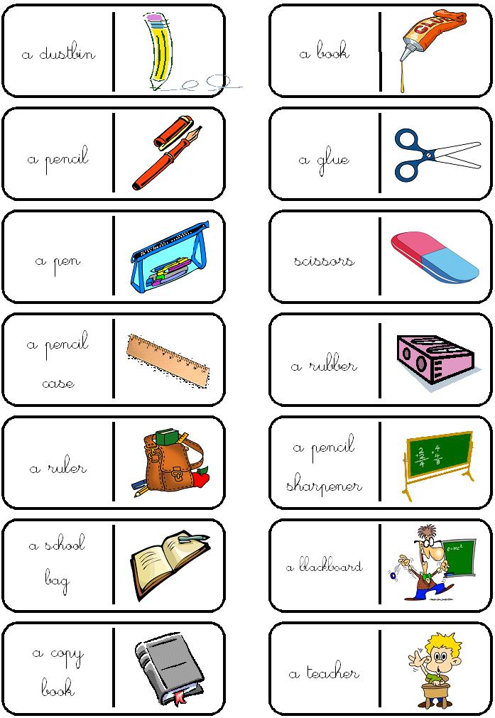 jeux de dominos en anglais imprimer en couleur cp ce1 au cm2 anglais mat riel et classe. Black Bedroom Furniture Sets. Home Design Ideas