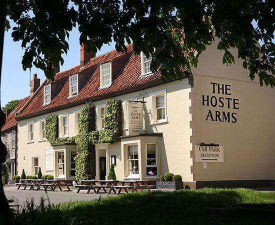 The Hoste Arms, Burnham Market, Norfolk - A great restaurant in North Norfolk