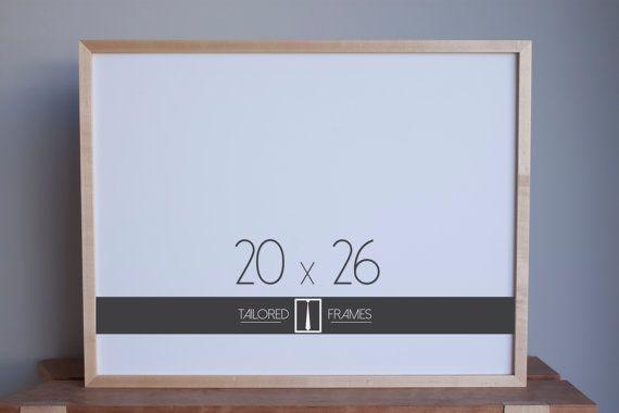20 X 26 Maple Frame Gallery Art Art Frame