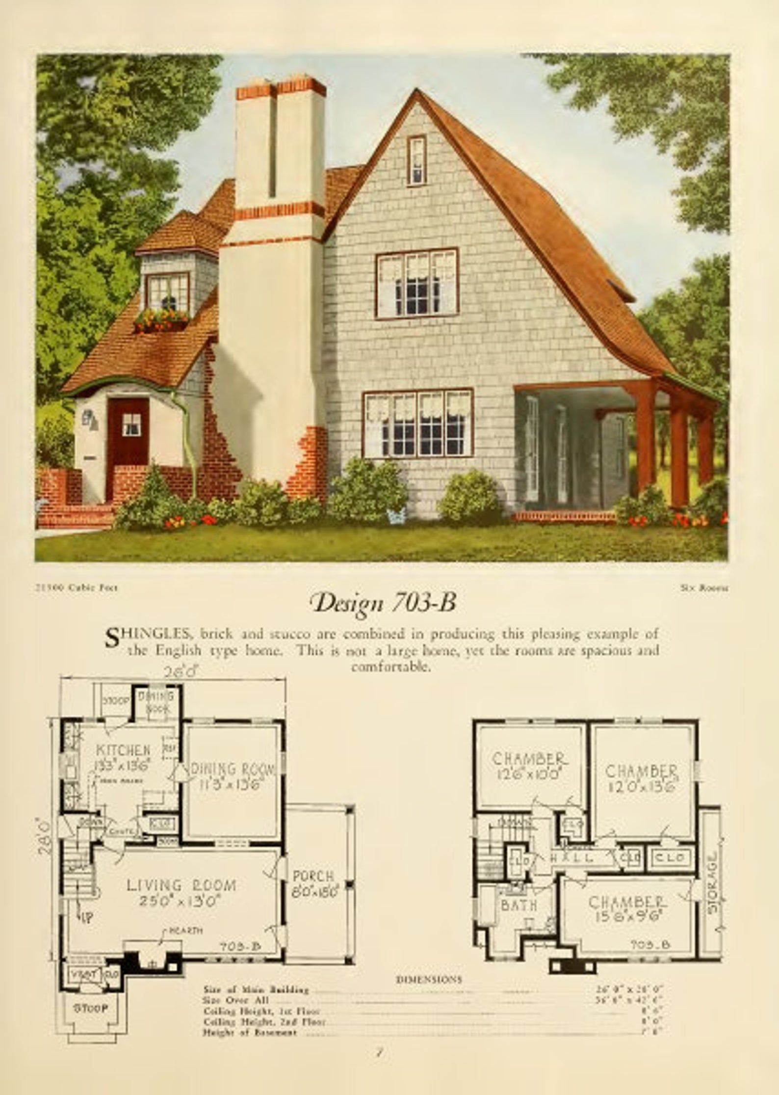 1920s Modern Homes Book of Vintage House Plans Architecture Digital PDF Copy Vintage Home Plans