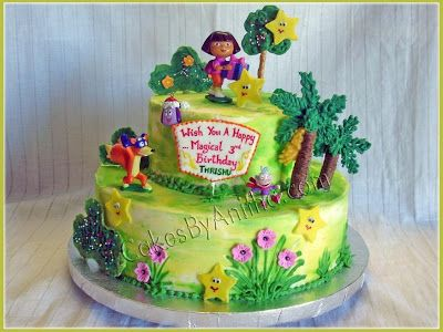 dora birthday cakes for girls year old birthday girl who is