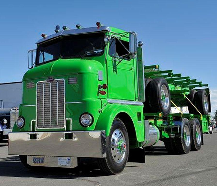 1965, PETERBILT  C O E Container-Truck & Trailer  | Tall