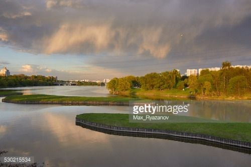 Borisov ponds in the Southern Administrative District of Moscow,... #orekhovo: Borisov ponds in the Southern Administrative… #orekhovo