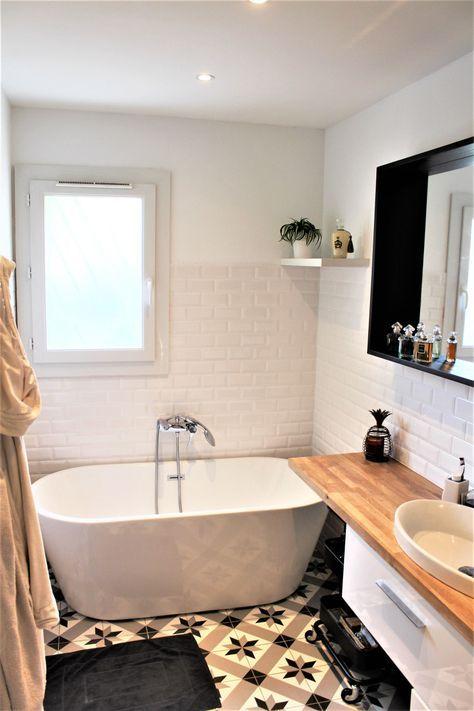 Rendez-vous déco  la rénovation de la salle de bain avant / après