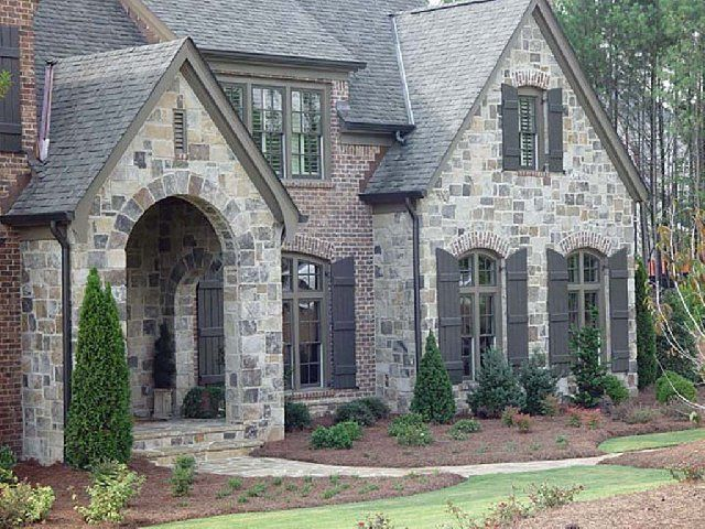 Loving This Exterior The Exterior Stone Is Called Cottonwood The