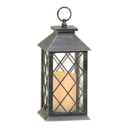 Brushed Black LED Lantern | Led lantern, Lanterns ... on Lanterns At Kirklands id=67390