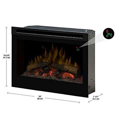 Dimplex Df2524l 25 Plug In Rv Electric Fireplace W Logs
