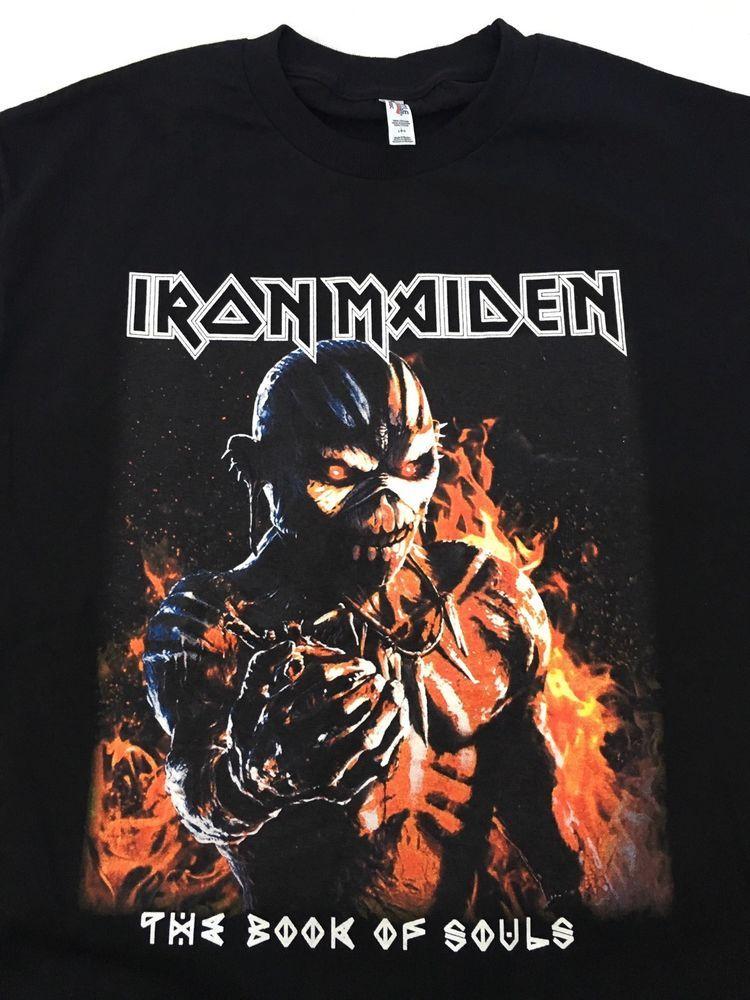 """Iron maiden /""""the book of souls t-shirt-nouveau /& officiel!"""