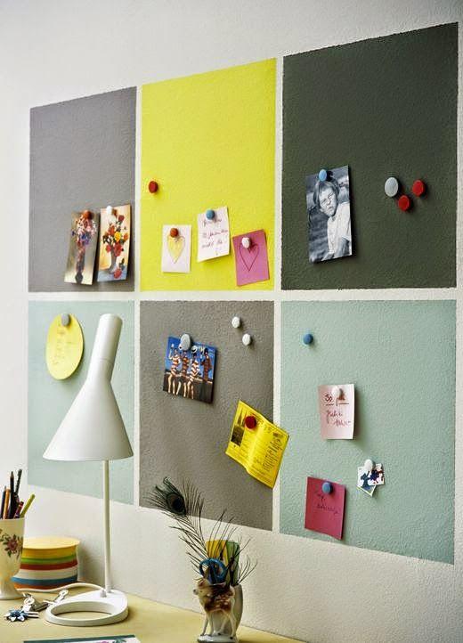 MAMMACHECASA!: La vernice magnetica | office ideas | Pinterest ...