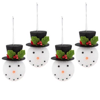 Christmas Top Hat Ornaments.Snowman With Black Top Hat Ornament Products Hobby Lobby