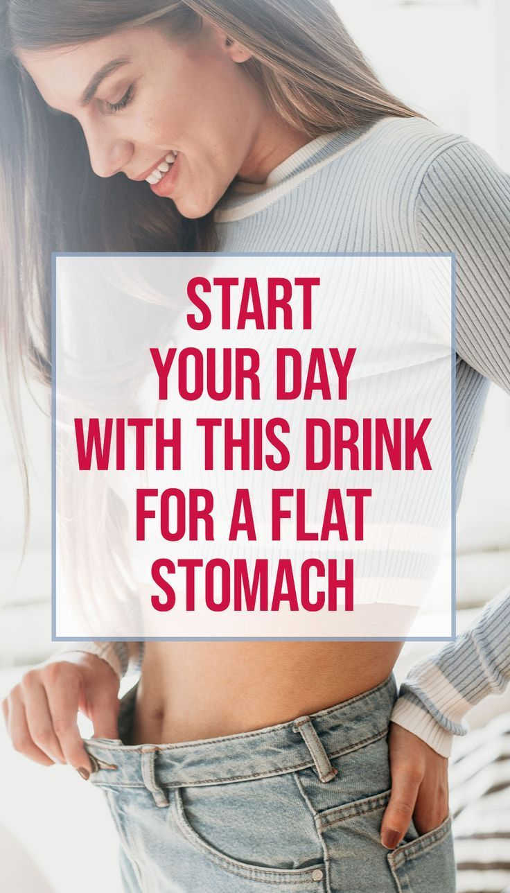 Find out why the one drink you should have when you wake up if you want a flat stomach is water and...
