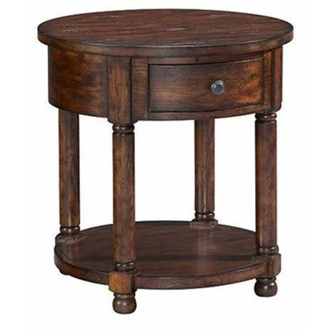 Attic Heirloom Collection Round End Table With A Charm And Style Well Beyond Its Years This Beautiful Round End Table Broyhill Furniture End Tables Broyhill