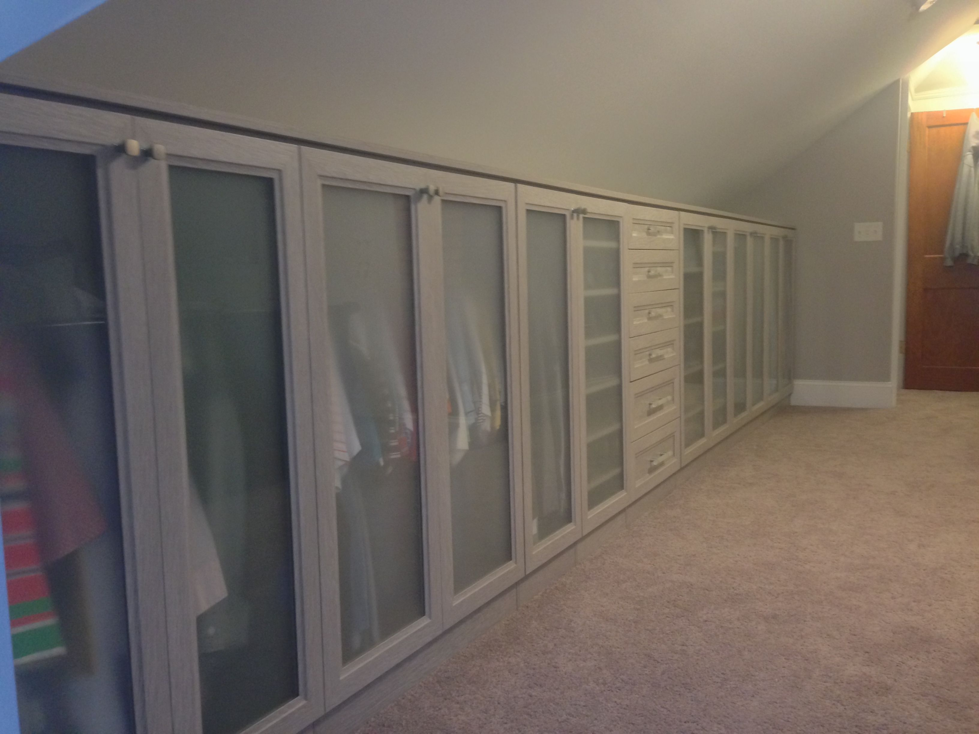 We love finding ways to optimize even the most unique spaces! California Closets Designer Tim Woolery
