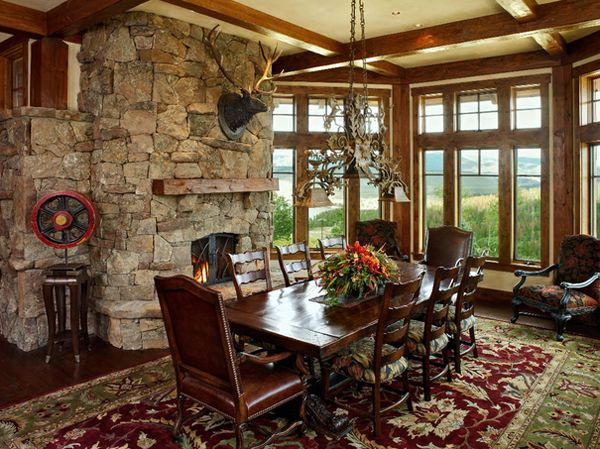 20 Unique Western Dining Rooms | French living rooms, Dining ...