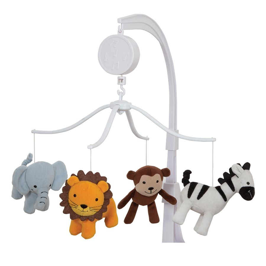 Mobile for crib babies r us - Bedtime Originals Jungle Buddies Musical Mobile Toys R Us