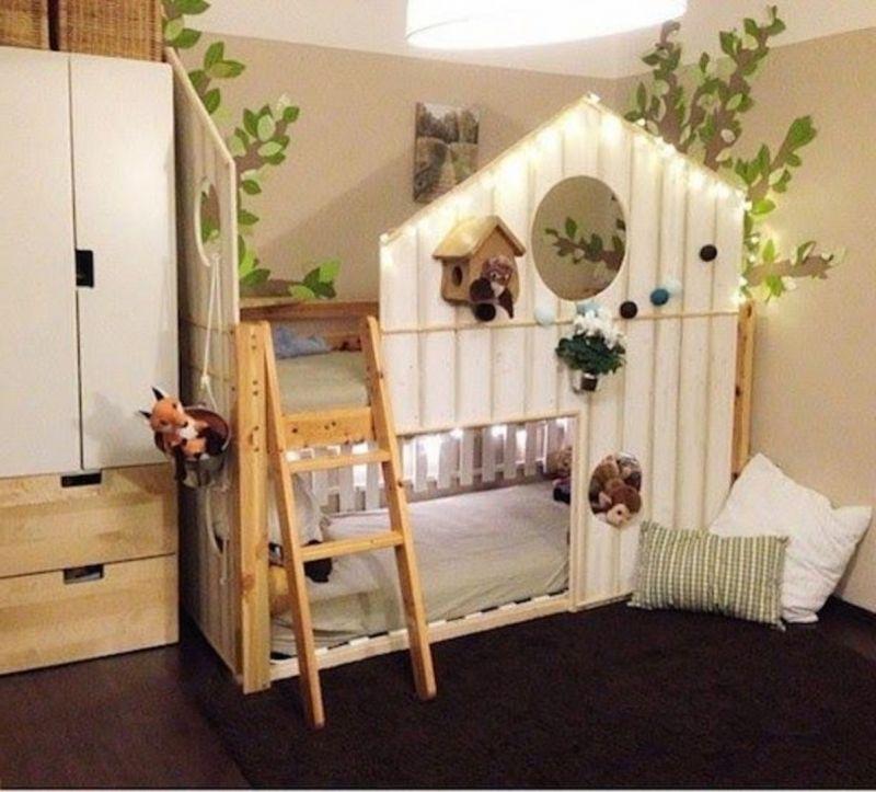 Le Ikea Hacking Stephaniebricole Blog En Ce Qui Concerne Meilleur Elegant Et Attractif Lit Cabane Idee Deco Chambre Garcon Deco Chambre Garcon Chambre Enfant