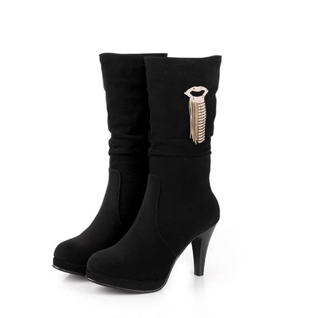 Latest Mid Calf Boots for Women 2016 | Fashion | Pinterest | For ...
