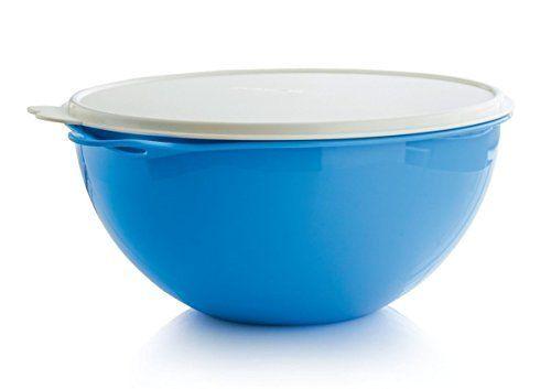 Tupperware Thatsa Bowl 32 Cup In Rain Drop Blue By