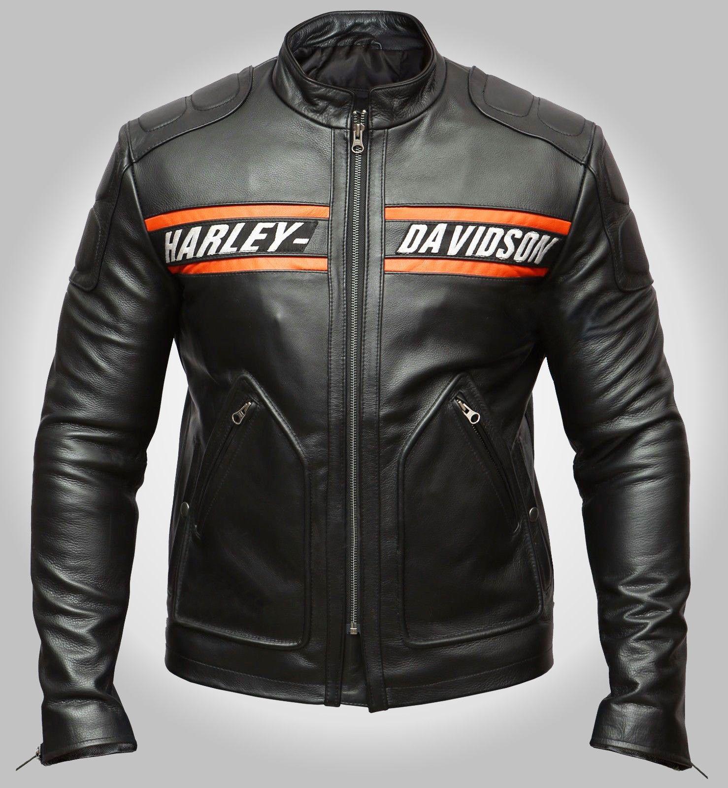 Harley Davidson Biker Genuine Leather Jacket Style Motorcycle Goldberg Wwe Leather Jacket Men Cafe Racer Leather Jacket Harley Davidson Leather Jackets [ 1600 x 1478 Pixel ]