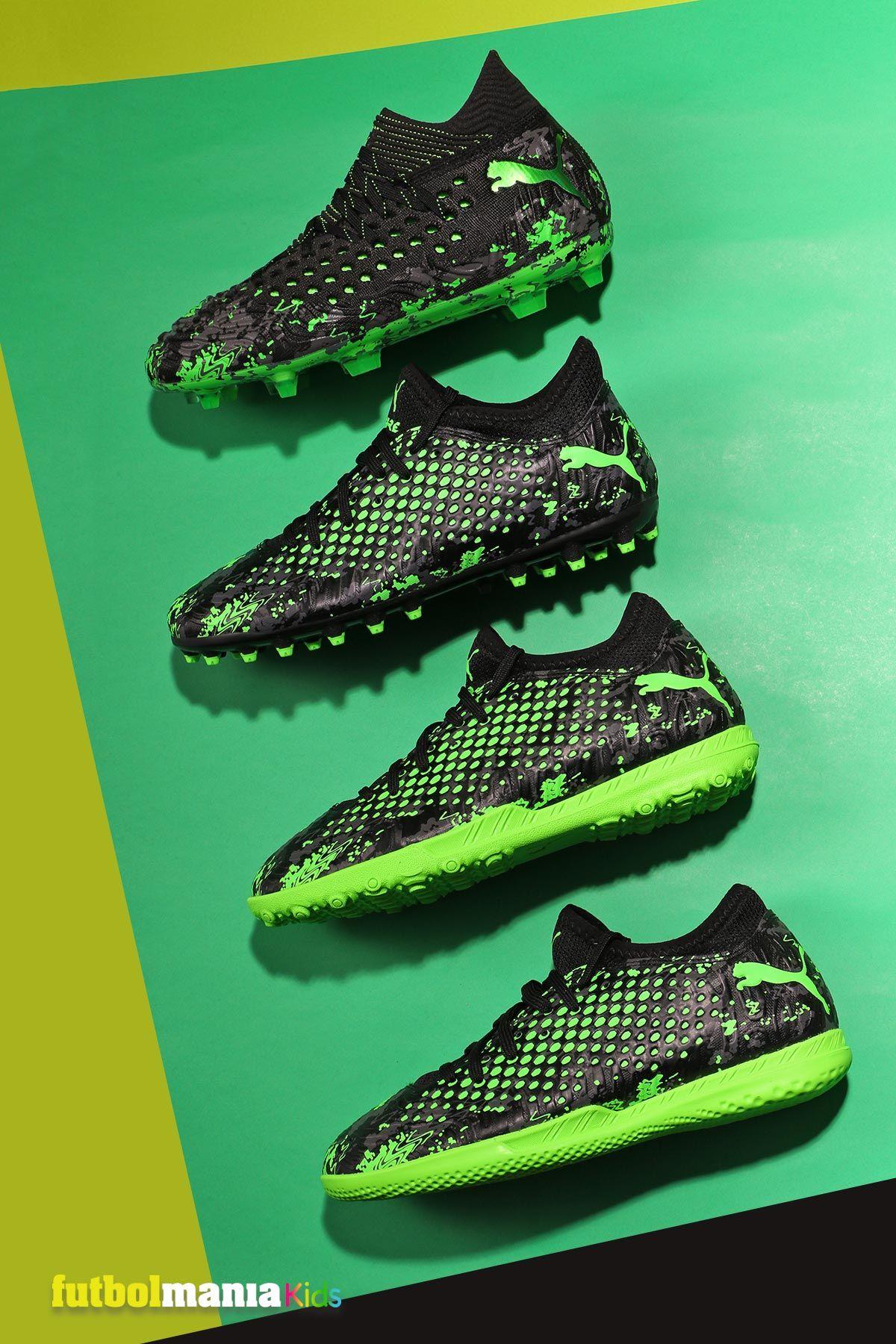 Puma Future 4.4 TT flúor y negro | futbolmania